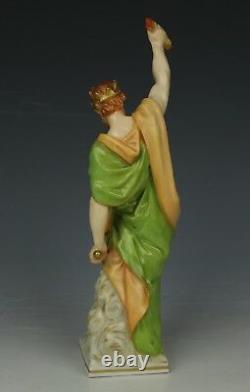 Antique KPM Berlin pair of figurines Zeus & Hera WorldWide