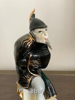 Antique Karl Ens Mehistopheles Porcelain Figurine