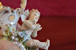 Antique Rare German'Volkstedt' Porcelain Cherub Figurine, 1787-1799