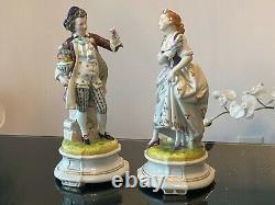 Antique Scheibe Alsbach porcelain figurine A couple