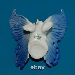 Antique Vintage Porcelain BUTTERFLY Figurine Karl Ens Manufactory Germany
