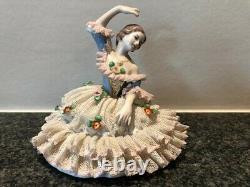 Dresden Porcelain Lace Lady