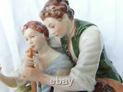 Exquisite Vintage Kammer Rudolph (Dresden) porcelain figure 2 fingers missing