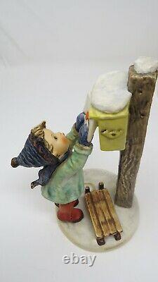 Goebel Hummel Germany Vintage Figurines. A Letter To Santa Claus