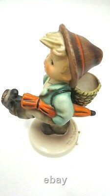 Goebel Hummel Germany Vintage Figurines. Globe trotter