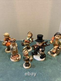 Lot Of 6 Vintage GOEBEL HUMMEL Figurines W. Germany