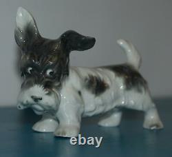 Schaubach Kunst Dog Porcelain Antique Vintage Figurine Germany Terrier