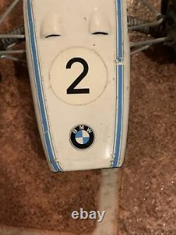 Schuco BMW Formel 2 Race Car Figurine Toy Statue #1072 Made In Germany Vintage