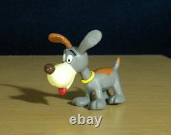 Smurfs 20405 Puppy Smurf Gray Dog Grey Vintage Figure PVC Toy Figurine Germany