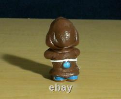 Smurfs 20431 Monk Smurf Praying Rare Vintage Figure Schleich Toy PVC Figurine