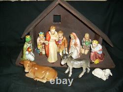 Vintage 12 piece Beautiful Goebel Nativity Set. Excellent condition! New