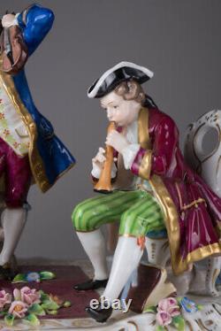 Vintage Antique Original Germany Large Figurine subject composition SITZENDORF