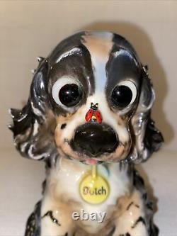Vintage Goebel Cocker Spaniel Butch Bugged Eyed Perfume Lamp 1960 VBee Mark Ex
