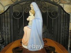 Vintage Goebel Hummel Blue Cloak Madonna Holding Child 151 13 Figurine TMK-5