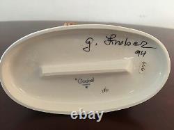 Vintage Goebel Hummel Follow The Leader #369 TMK 7 Signed