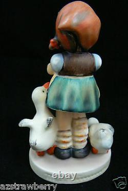 Vintage Hummel Goebel W Germany Porcelain Be Patient girl Figurine 4.5 197 1948
