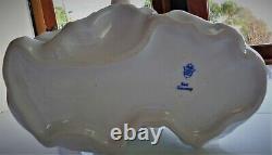 Vintage Large Unterweissbach German Porcelain Seated Ballet Dancer Figurine Mint