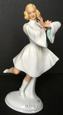 Vintage Schaubach Kunst 8 & 1/4 Inch Tall Dancer Figurine