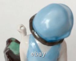 Vtg Bathing Beauty Lady Woman Figurine Doll Porcelain Ceramic German Art Deco